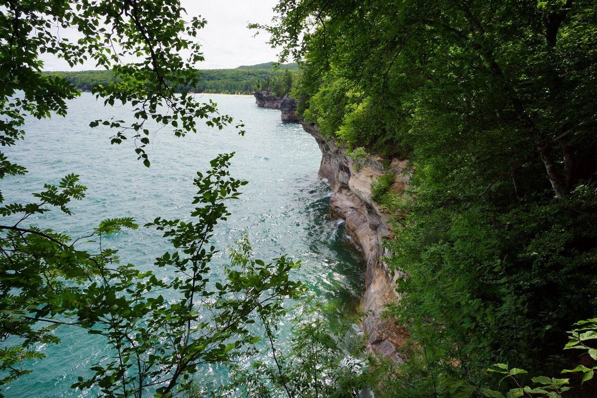 pictured rocks trail