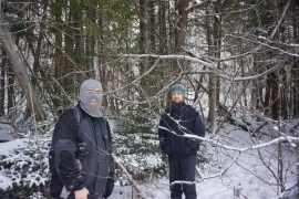 pigeon river winter camping 19