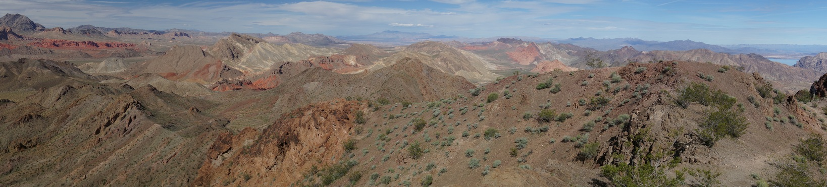 Pinto Valley Wilderness Viewed From Hamblin Mountain