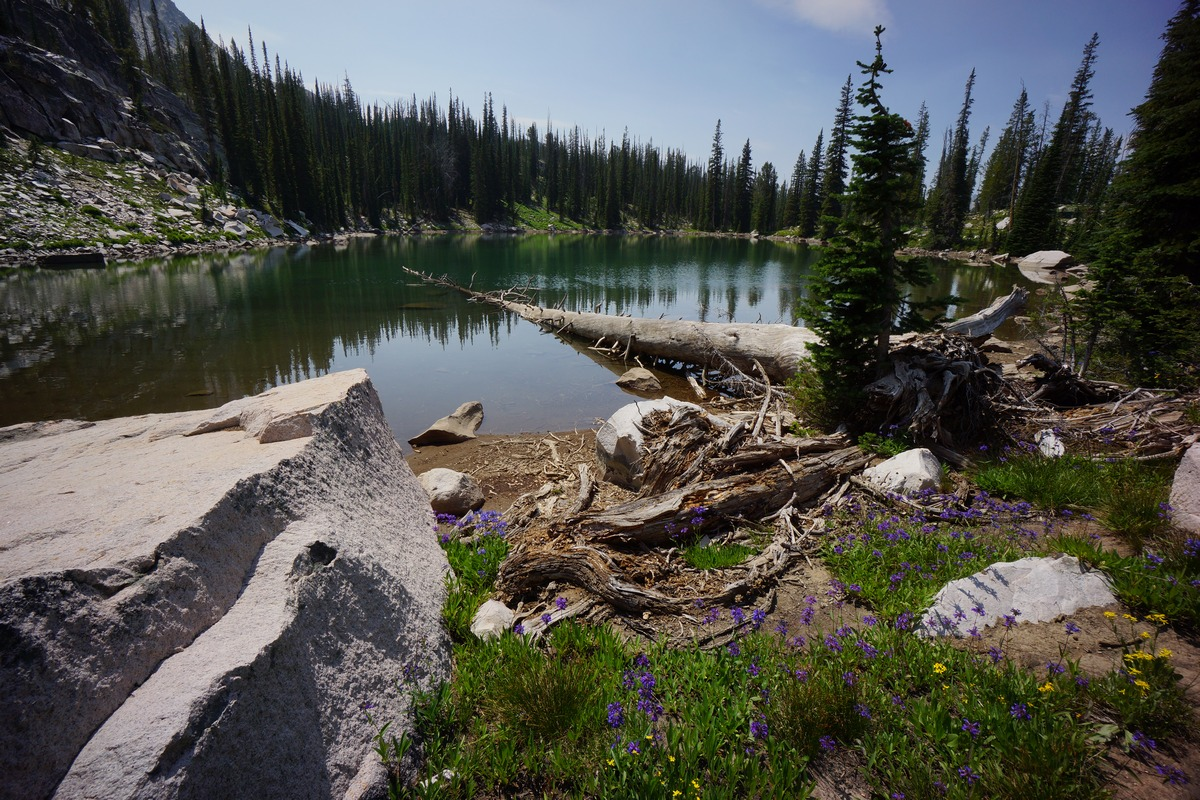 Sawtooth Wilderness, ID High Route - 8 Day Solo Hike Aug