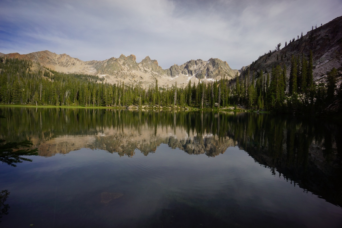 sawtooth wilderness lower cramer lake