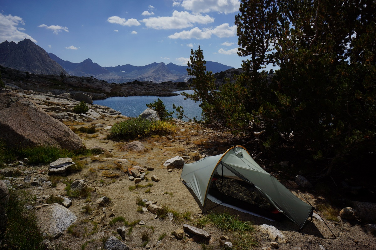 darwin bench campsite