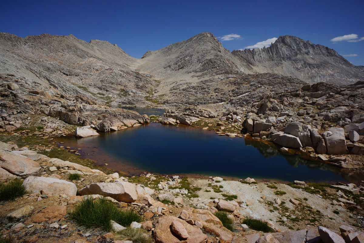 bear basin lakes and peaks