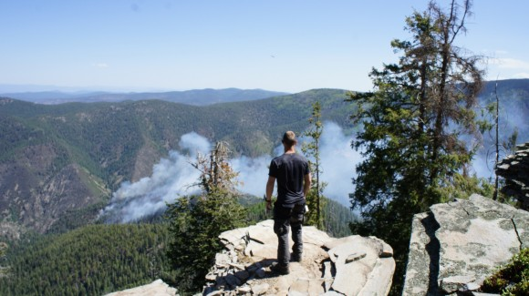 overlooking whitewater baldy fire new mexico