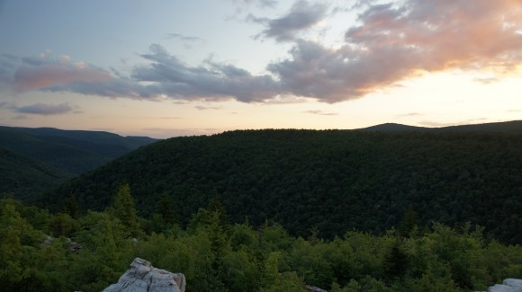 dolly sods wilderness sunset