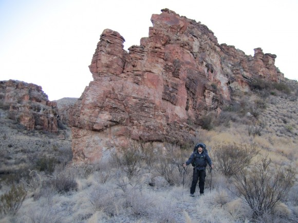 blue creek canyon hiking trail big bend