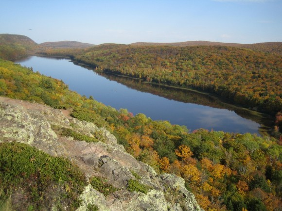 porcupine mountains, mi - lake of the clouds