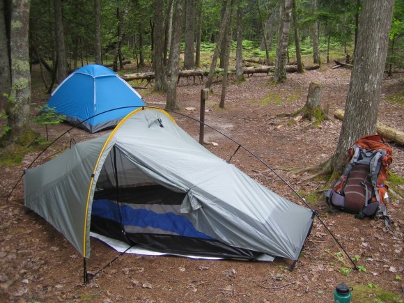 pictured rocks - au sable point east campsite