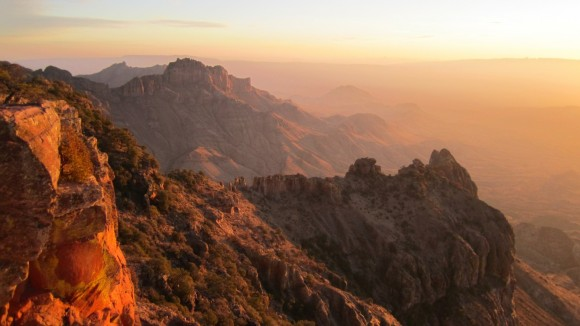 Chihuahuan Desert sunrise big bend