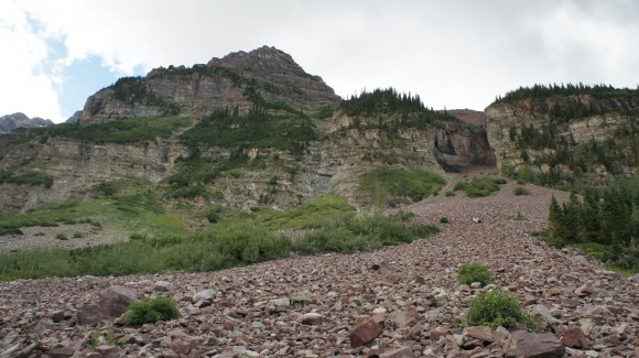 The Base Of North Maroon Peak
