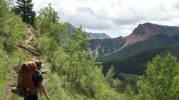 hiking colorados maroon bells wilderness
