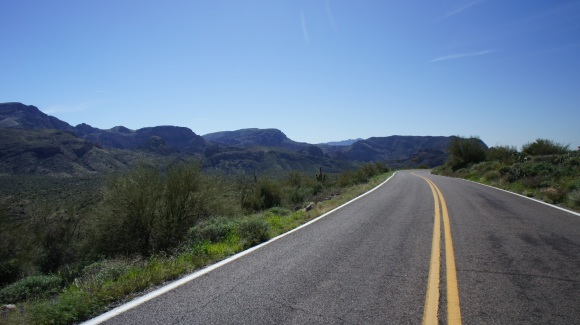Hwy 88 Superstition Wilderness Arizona