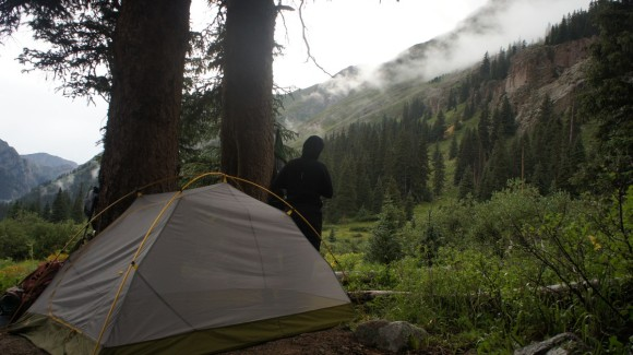 chicago basin campsite august 2013