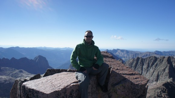 colorado fourteener windom peak summit block