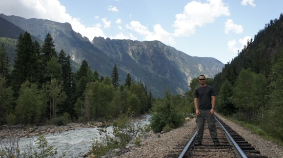 weminuche wilderness railroad tracks animas river