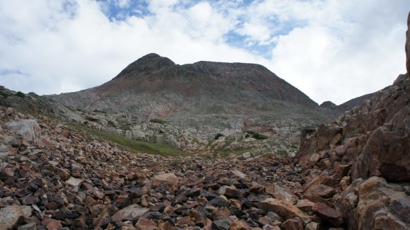 white dome 13er san juans weminuche wilderness eldorado lake