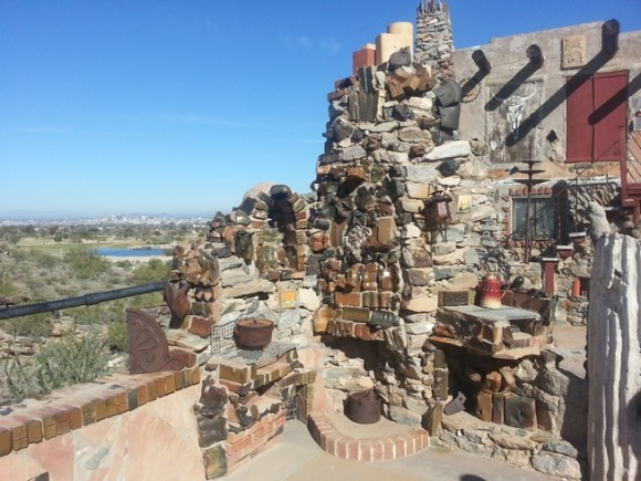 phoenix arizona mystery castle tour