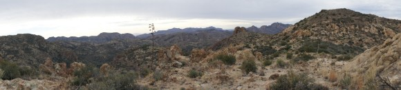 panoramic photo of the jf trail