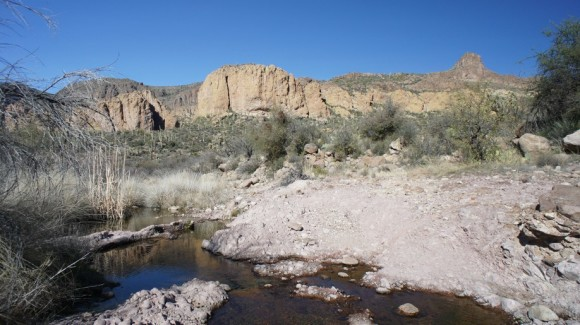 water in labarge canyon