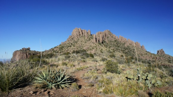 superstition wilderness peak 5057