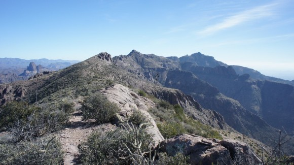 Superstition Ridgeline Panaorama Shot