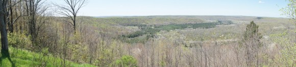 panarama shot from deadmans hill