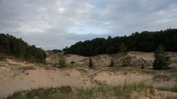laek michigan dune hiking in nordhouse wilderness