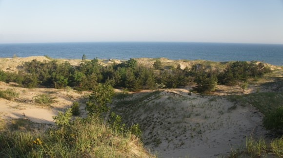 Sun, Dunes, Lake MIchigan