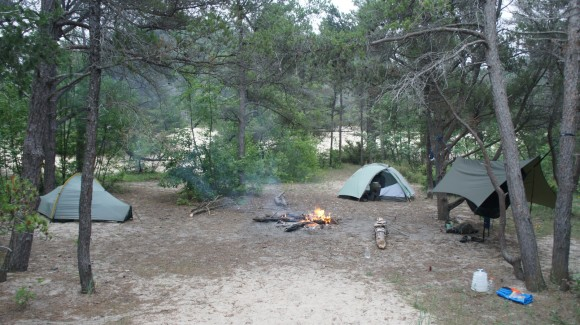 nordhouse dunes wilderness campsite
