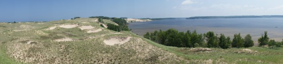 hamlin lake ludington state park nordhouse dunes wilderness panorama