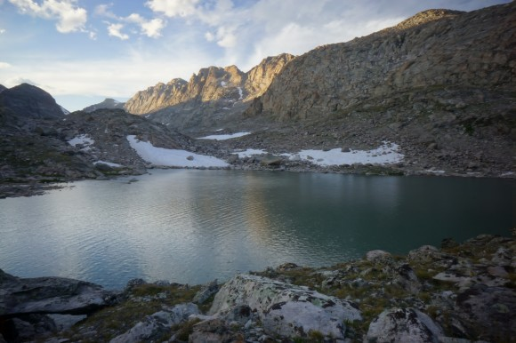 alpine lakes cmapsite view wind river range