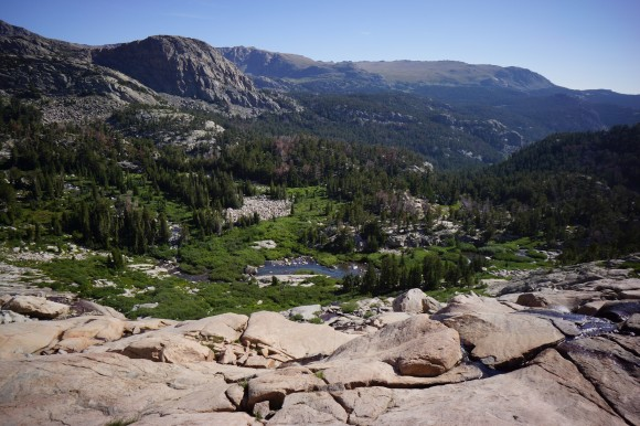 fitzpatrick wilderness wind river range near unnamed alke