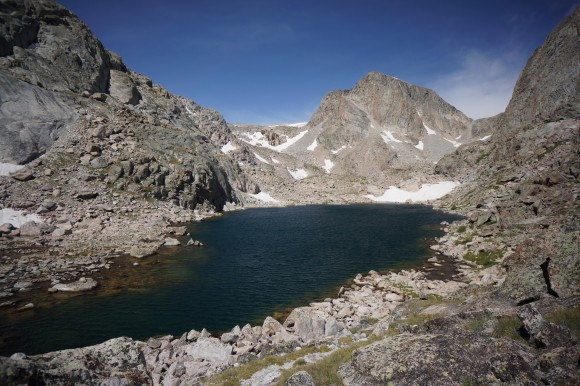 unknown lake backpacking the wind river range