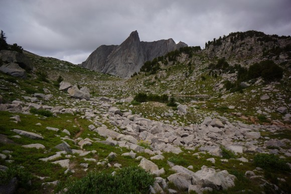 bridger wilderness mountains
