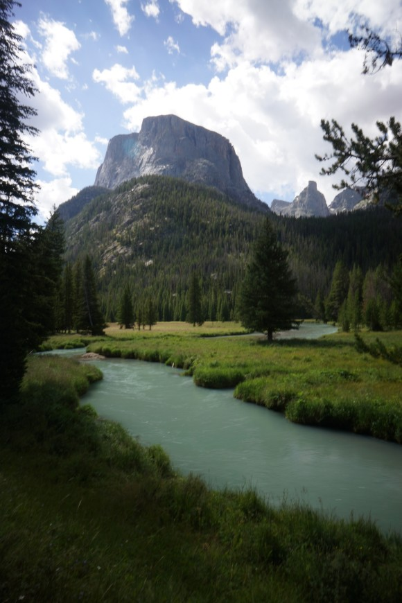 squaretop mountain and green river