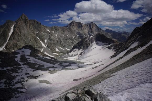 twins glacier august 2014