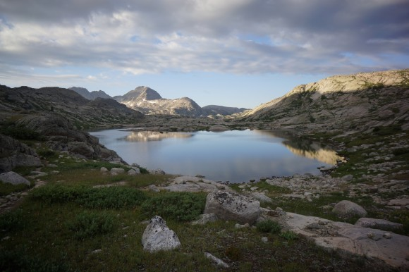 lower indian basin island lakes titcomb basin