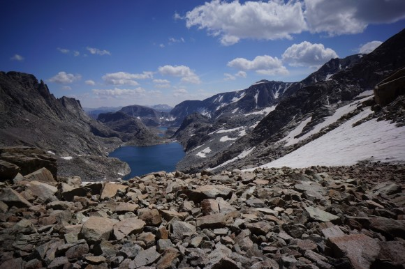 alpine lakes wind river range traverse