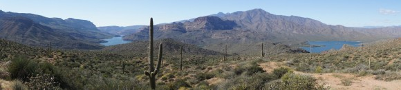 arizona scenic drives hwy 88 apache trail view