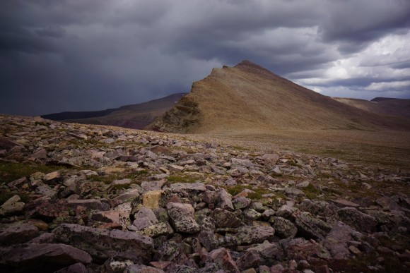 rain storm nears anderson pass
