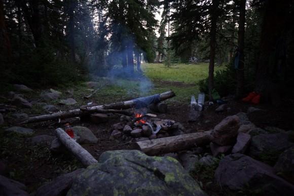 lambert lake campsite