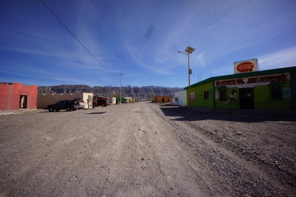 In the town of Boquillas, Mexico