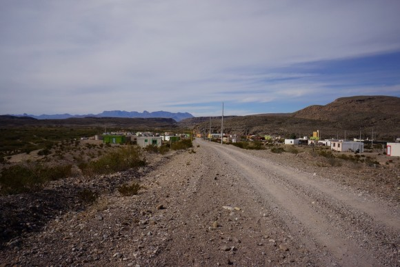 road back into boquillas