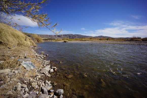 filtering water from the rio grande