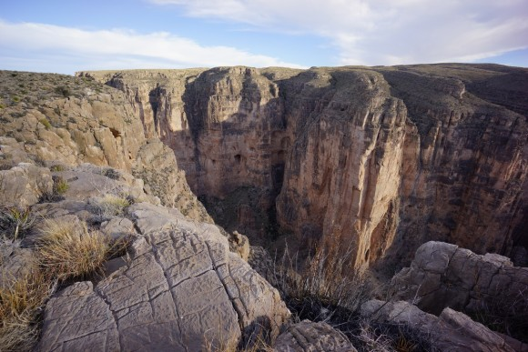 mariscal canyon overlook in big bend national park