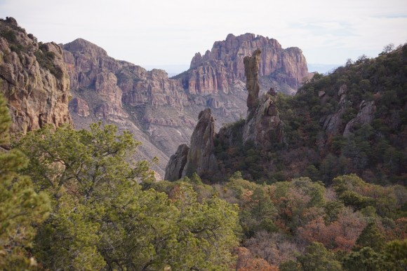 boot rock in boot canyon, big bend national park