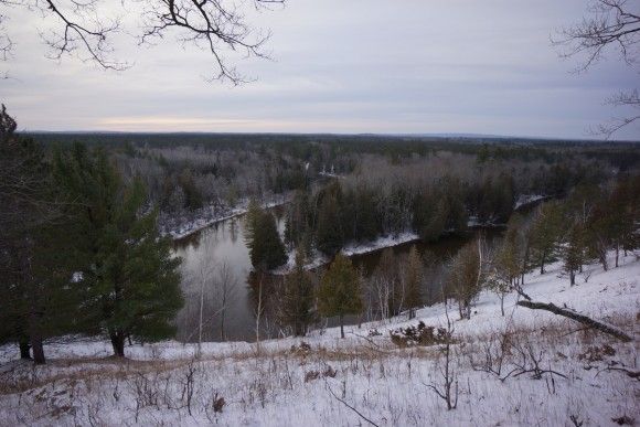 winter december 2015 picture of manistee river