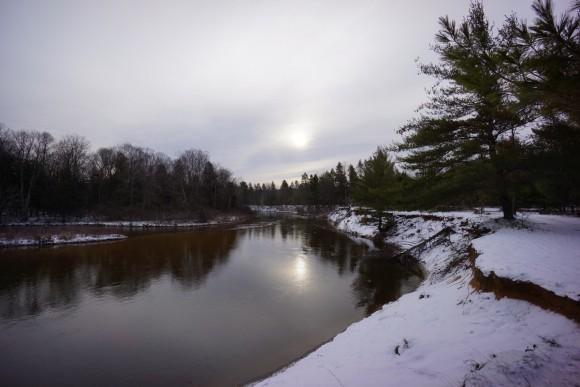 Manistee River December 2015