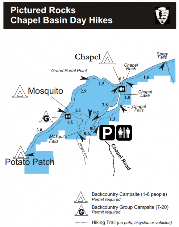 chapel beach mosquito beach map